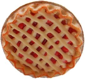 Cherry Lattice Pie Ring