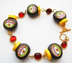 marmite ruby gemstone bracelets
