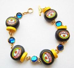 marmite sapphire gemstone bracelet