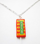 Mega Drum Lollipop Necklace