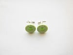 Green Polo Cufflinks