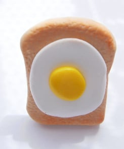 Large Breakfast Egg On Toast Ring