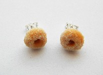Sugary Doughnut Stud Earrings