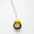Fimo Marmite Jar Pendant Necklace