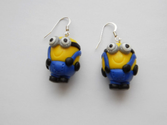 Despicable Me Minion Earrings