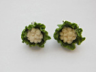 Cauliflower Vegetable Earrings