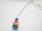 Bertie Basset's Sweet Liquorice Allsorts Kawaii Necklace