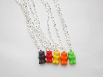 Gummi Bear Fimo Necklace