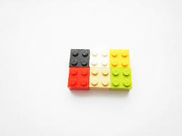 Lego Brick Fridge Magnet