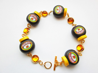 Choose Your Marmite Gemstone Bracelet