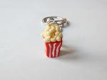 Fimo Popcorn Keyring