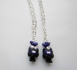 Purple Despicable Me Minion Toy Character Polymer Necklace