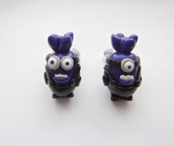 Purple Despicable Me Minion Ring