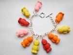 Jelly Babies Charm Bracelet