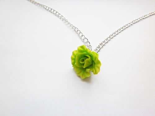 Green Lettuce Necklace