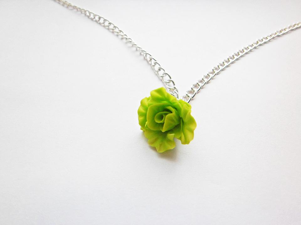 Green Lettuce Necklace