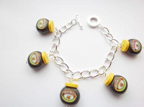 Marmite Charm Bracelet