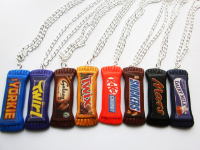 Fimo Kitsch Chocolate Necklace Jewellery Bar