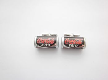 Coke Zero Cufflinks