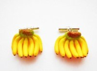 Banana Bunch Cufflinks