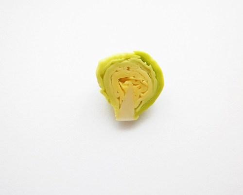 Half Vegetable Sliced Cabbage Ring