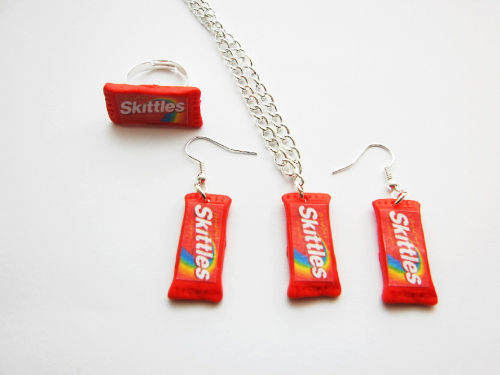 Skittles Fun Jewelry Set