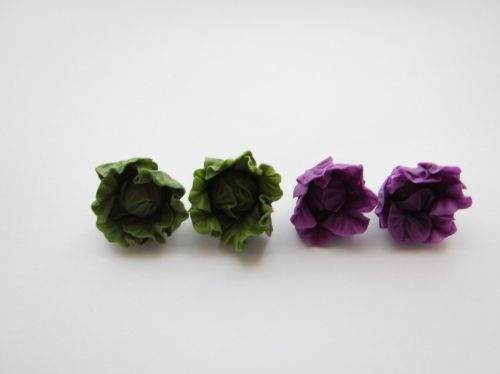 Quirky Cabbage Cufflinks