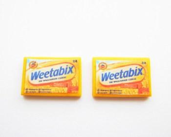Weetabix Earring Studs