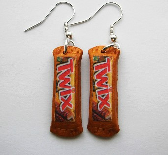 Mini Twix Earrings