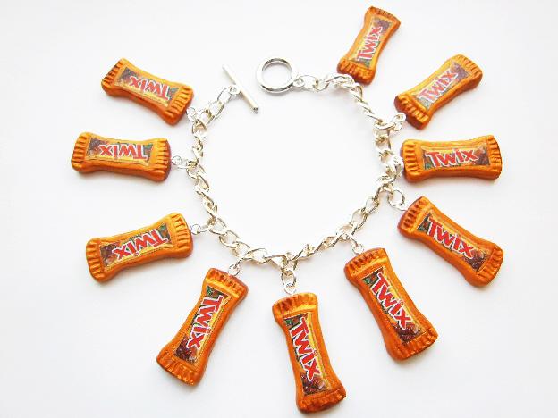 Twix Charm Bracelet