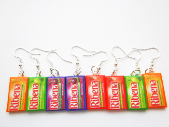 Mini Drink Pendant Charm Earrings