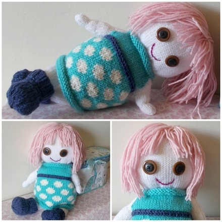 doll collage