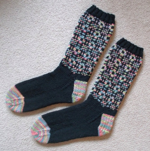 Welsh Tapestry Socks