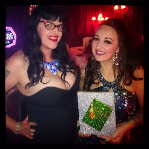 Heidi Bang Tidy & Lady Wildflower at The Burlesque Awards
