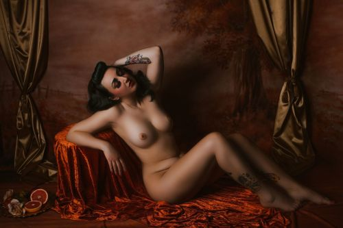 'Renaissance Nude' Signed Photo Print