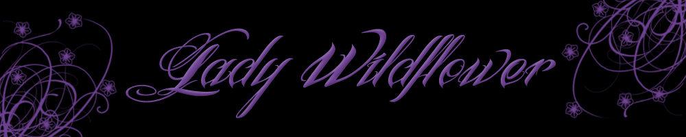 www.ladywildflower.com, site logo.