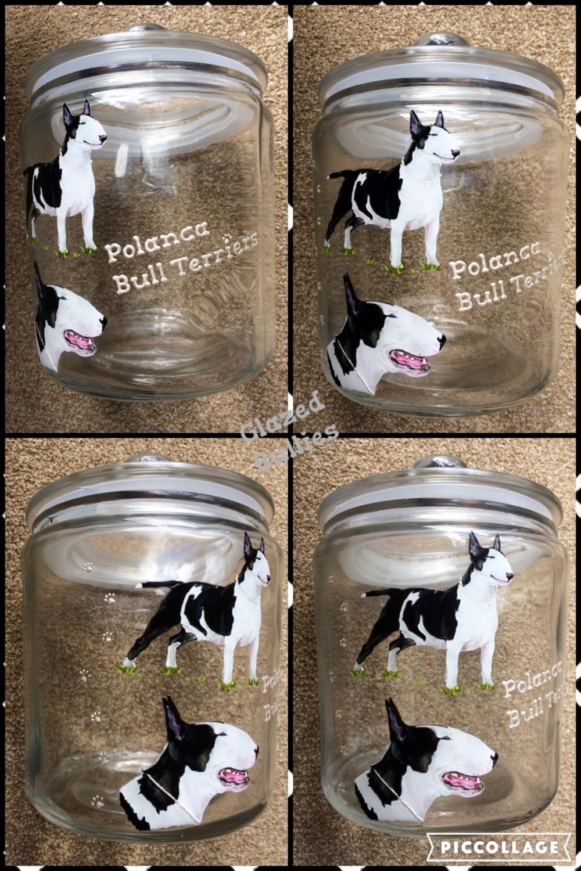 Portrait - Glass Storage Jar - LARGE