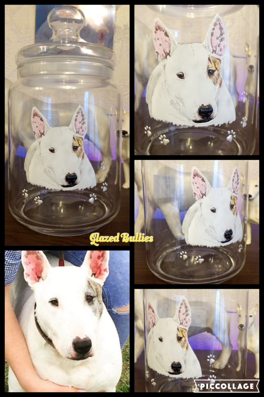Portrait - Glass Storage Jar - SMALL