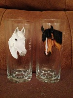 Portrait - High Tumblers (Pair)