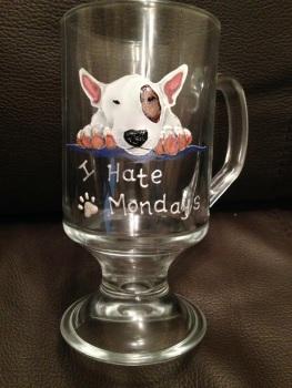 Portrait - Pair of Latte Glasses or Tea Mugs