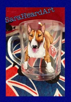 Portrait - Single Glass Tea Mug/ Latte Mug