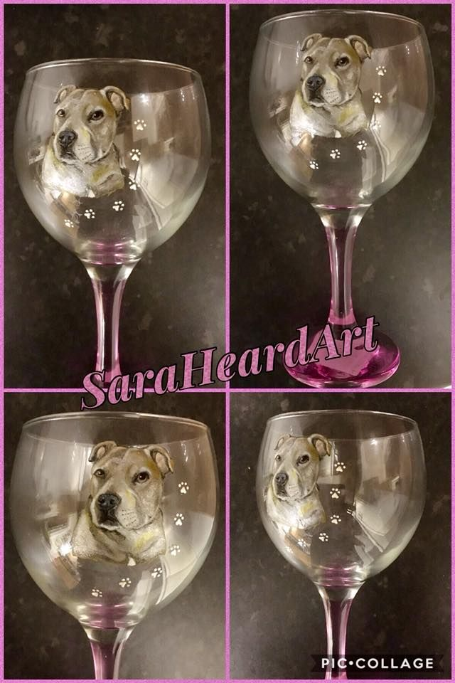 Portrait - Pair of Wine Glasses