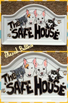 Ceramic House Plaque