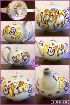 Cartoon style Teapot