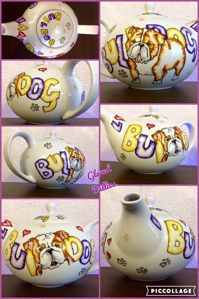 Cartoon style Teapot