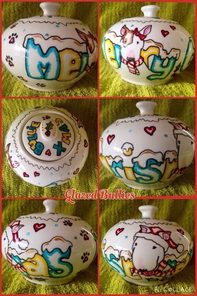 Cartoon style commission Milk and Sugar jug set