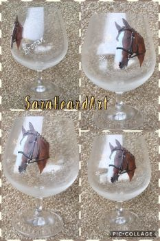 Portrait - Brandy Glass