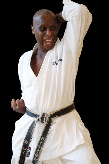 International Karate Instructor - Sensei Roy Tomlin MBE 6th Dan