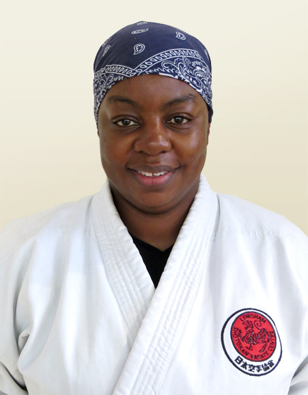 Karate Instructor - Sensei Sandra Dacres-Smith 3rd Dan