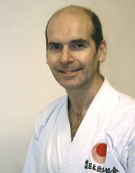 Karate Instructor - Sensei Christophe Denaro 2nd Dan